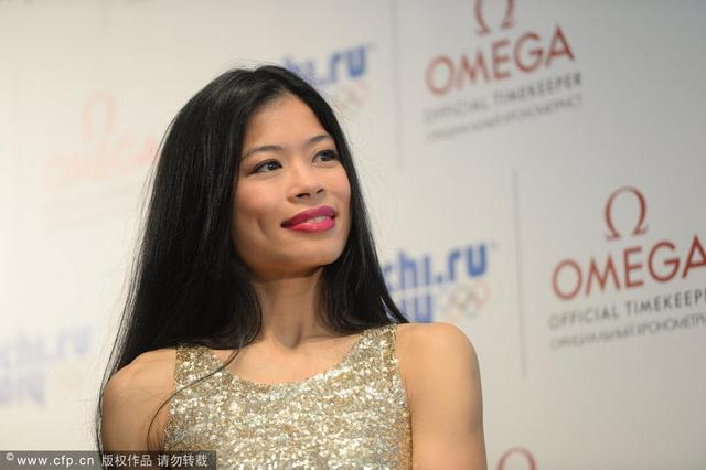 組圖:美麗相融!盤點索契冬奧會上的華裔美女_新聞_騰訊網