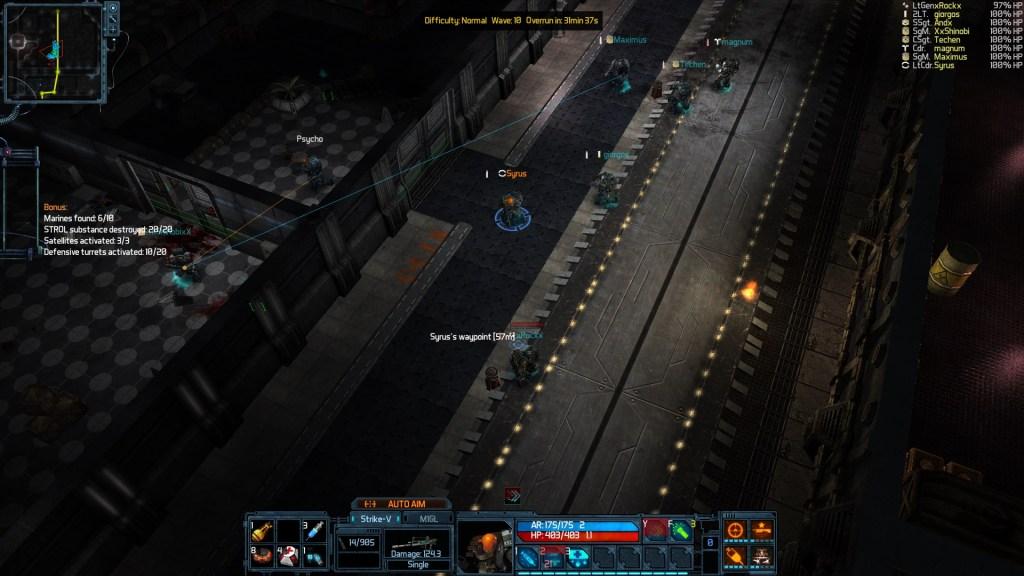 The Red Solstice : Un gameplay coopératif