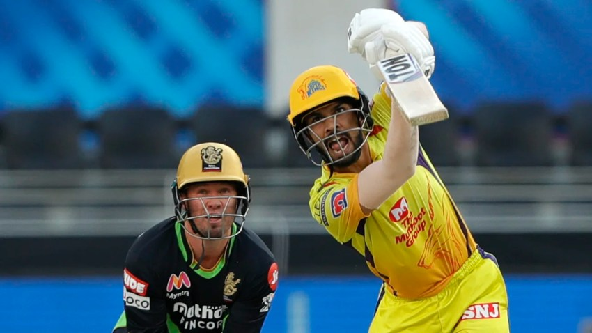 IPL 2020, RCB vs CSK - The first single, the first hit, and Ruturaj Gaikwad shows he can do it
