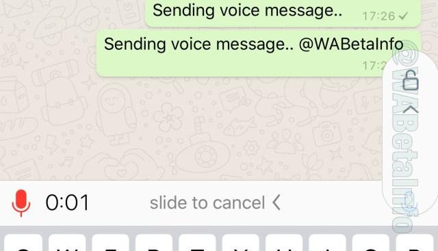 WhatsApp promete melhorar a opção de gravação de áudio