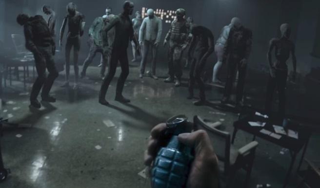 Uma cena de jogo.