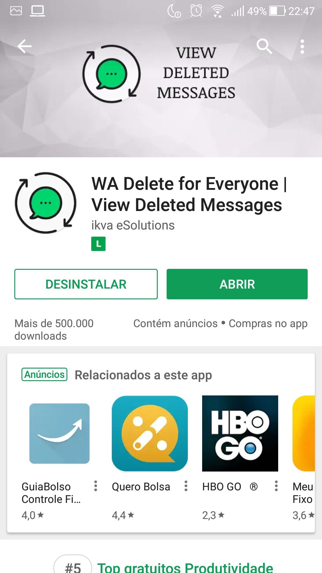 1 18105516569049 - Como recuperar as mensagens de WhatsApp que foram apagadas por quem enviou