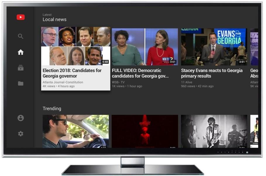 YouTube também vai ajudar notícias locais a se destacarem na página inicial da plataforma