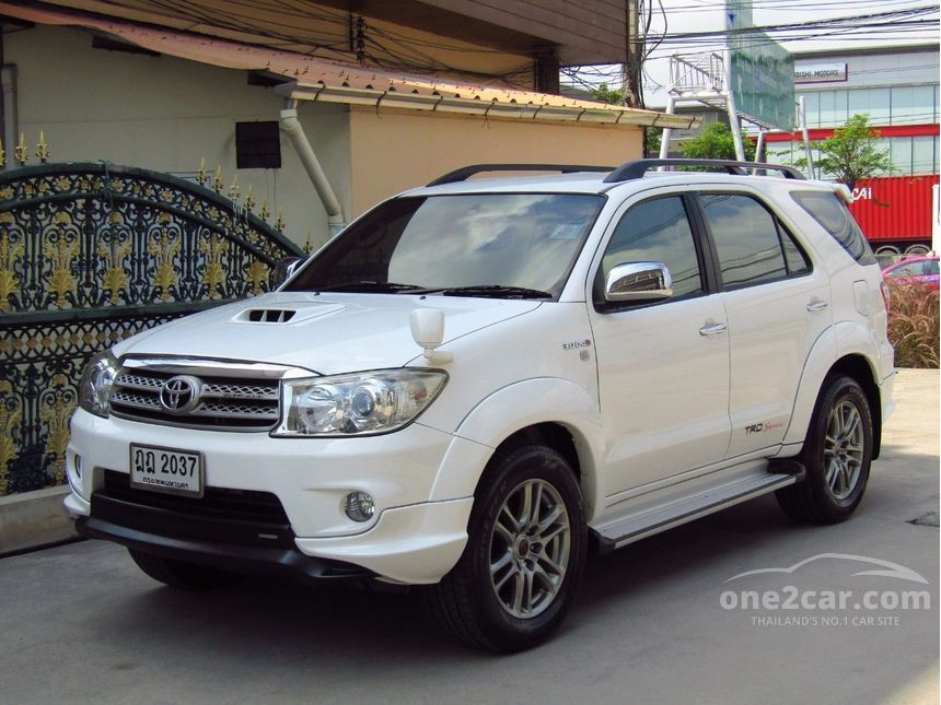 Toyota Fortuner 2010 ปี 08 11 Trd Sportivo Iii 3 0