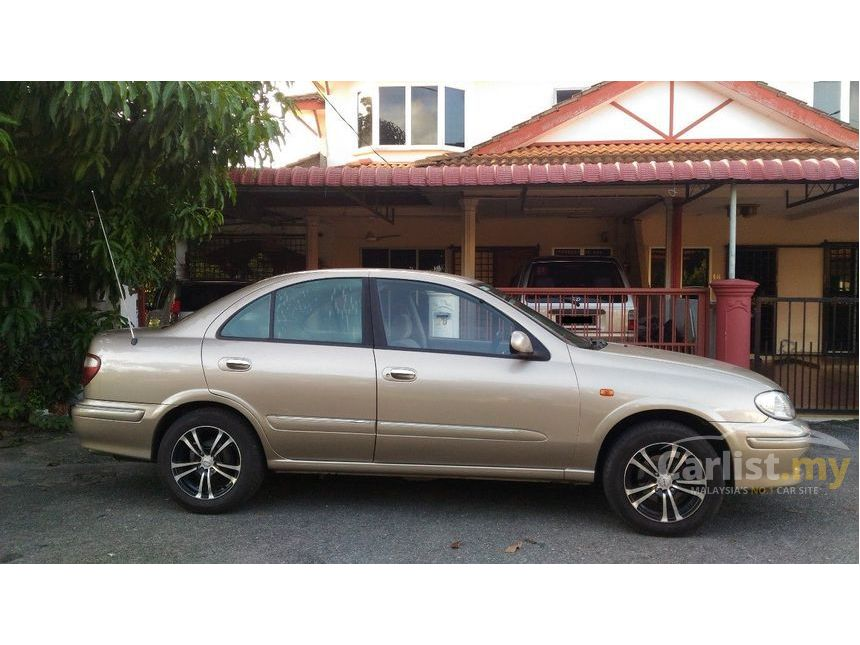 Nissan Sentra 2001 XE 16 in Perlis Automatic Sedan Gold