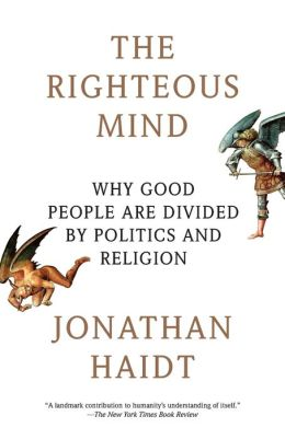 Cover: The Righteous Mind