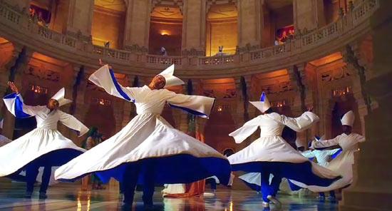 The fall danse mariage