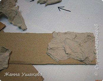 Из яичных лотков. Декоративные КАМНИ для отделки стен (14) (349x275, 75Kb)