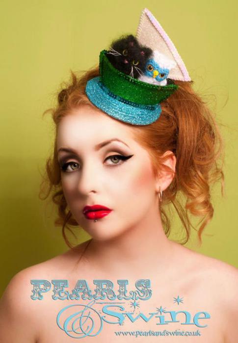 Экстравагантные и забавные шляпки для тех, кто хочет познакомиться