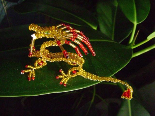 бисерный дракон