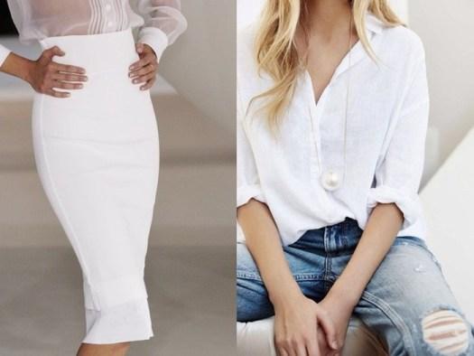 Какое бельё выбрать для белой прозрачной одежды?