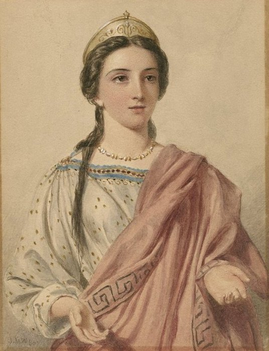 Brutus Soţia lui Portia (Iulius Cezar) (536x700, 75Kb)