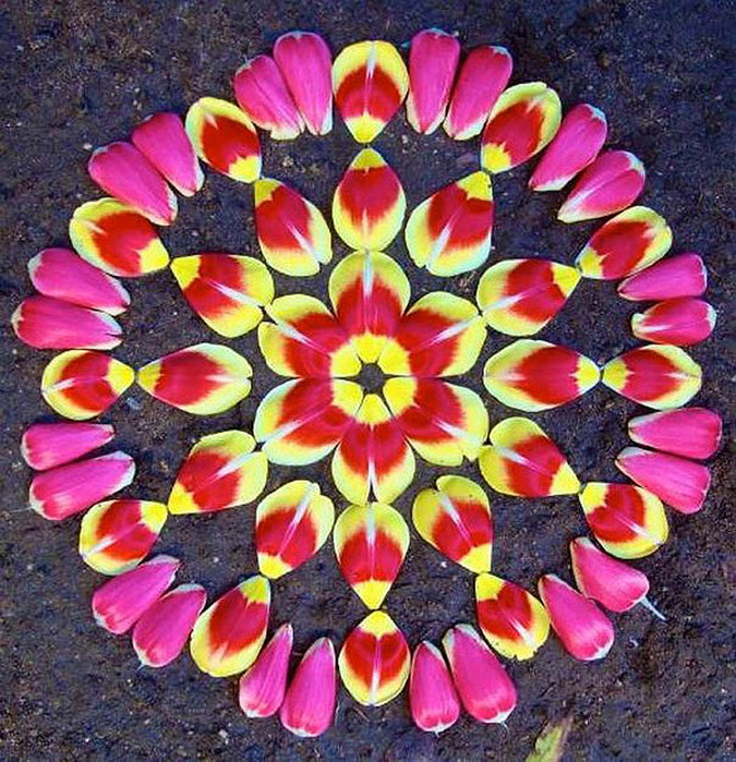 цветочные мандалы фото 17 (675x700, 232Kb)