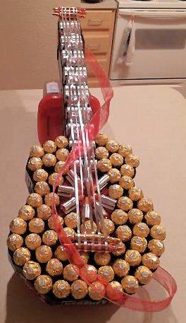 Конфетная гитара. Шаблон сладкого подарка (10) (264x457, 33Kb)