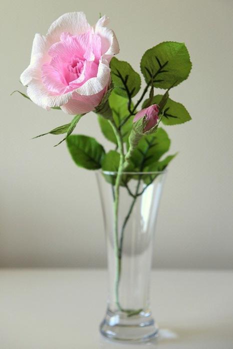розы из гофрированной бумаги. мастер-класс (36) (466x699, 57Kb)