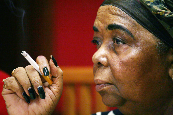 Cesaria Evora - the world-famous singer from Cape Verde.