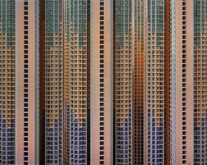 Архитектура плотности. Немецкий фотограф Михаэль Вольф