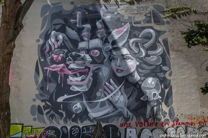 Стрит арт Вены, Австрия (фотографии Александра Шевченко)