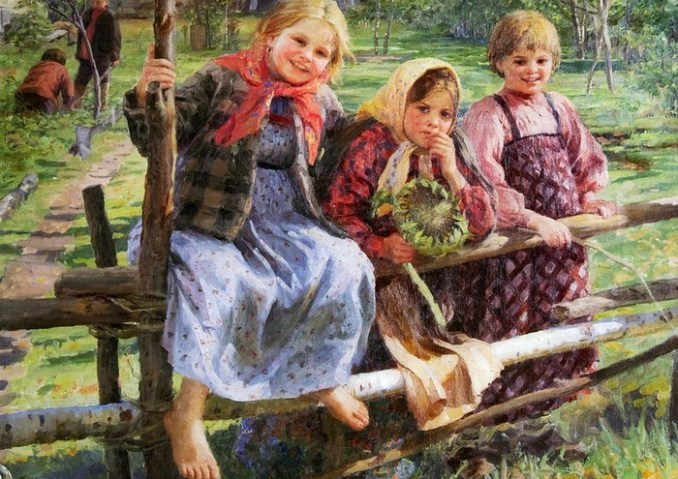 Художник Федот Васильевич Сычков: жизнь крестьян, сельские праздники в Мордовии