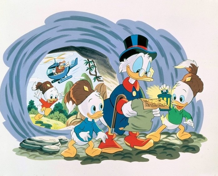 Компания Disney выпустила ремейк мультсериала «Утиные истории»