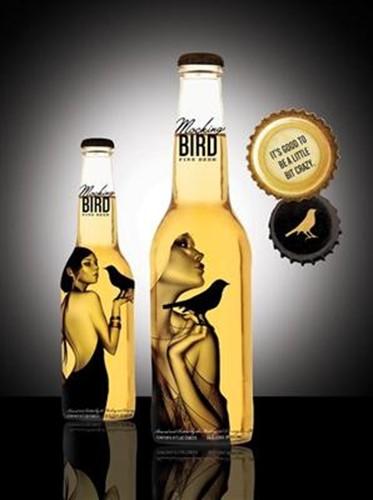 Пивная бутылка как искусство