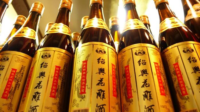 Китайское желтое вино