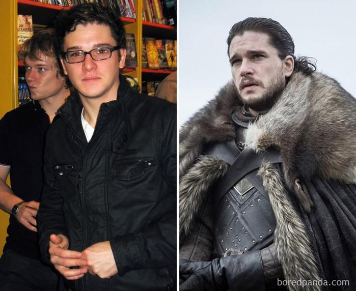 Как выглядели актеры «Игры престолов» в молодости