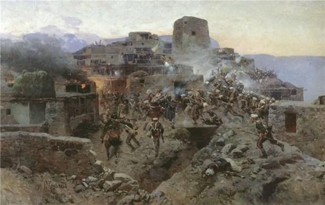 Россия 19 го века   картины маслом