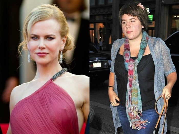 Гадкие утята Голливуда: несимпатичные дети знаменитостей