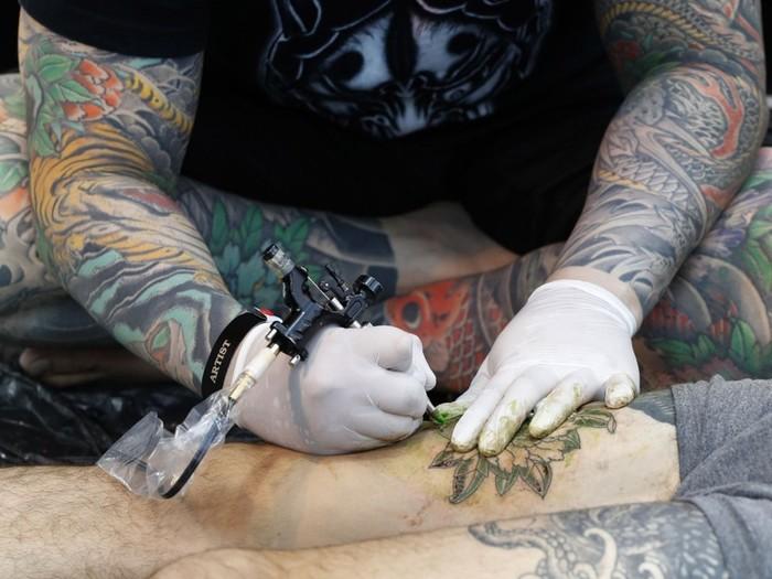 Фестиваль татуировок в столице Великобритании