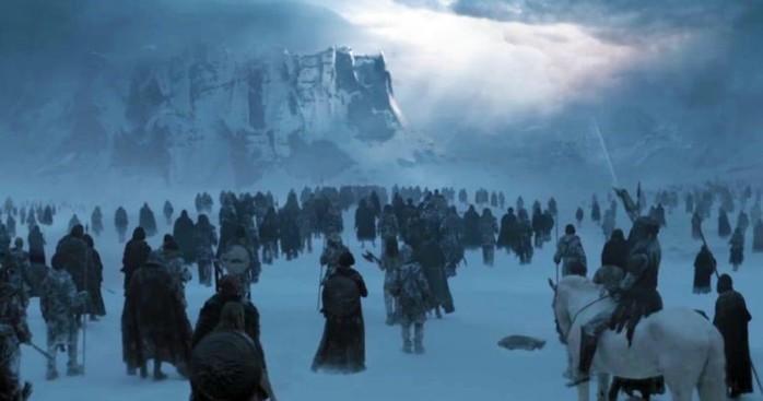Дата выхода серий 8 сезона Игры престолов