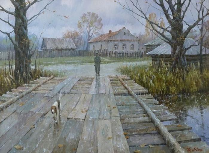 Художник русского пейзажа Дмитрий Левин