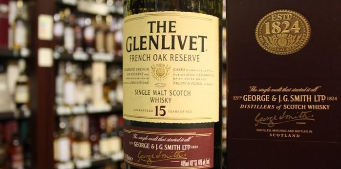 Виски Glenlivet   виски из долины реки Ливет