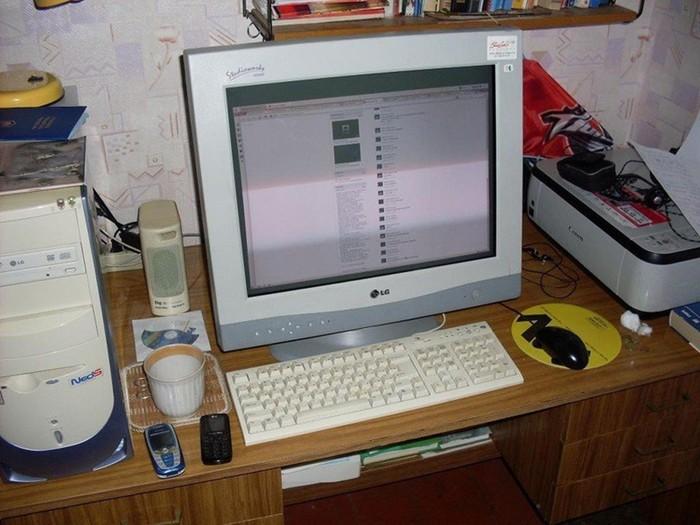Как выглядели персональные компьютеры 2000 х годов