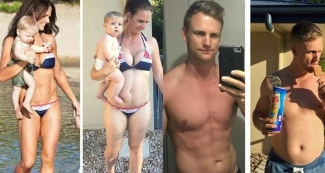Австралийская пара растолстела специально, чтобы доказать, что они могут легко похудеть