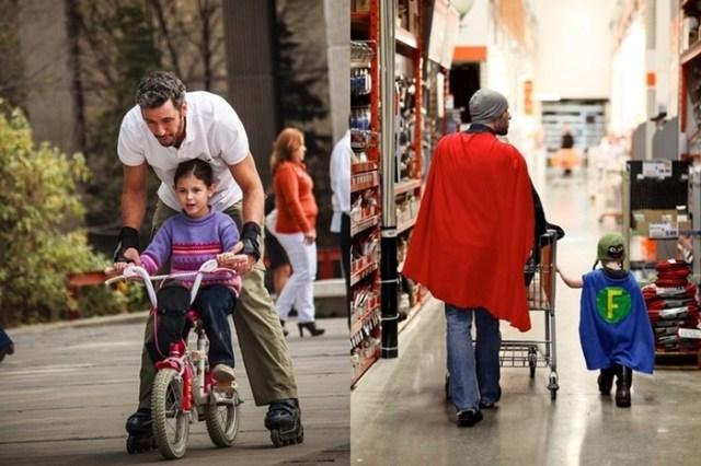 Папа не менее крут, чем мама! 19 трогательных фотографий с примерами