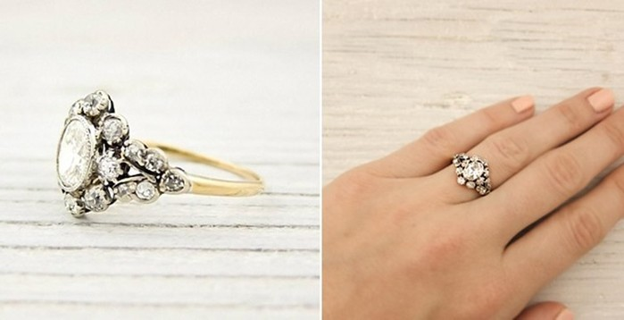 Винтажные обручальные кольца, которые имеют свою собственную судьбу