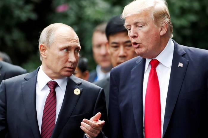 Как Путин рассказал о беседе с Трампом, а Трамп поведал об оскорбленном Путине