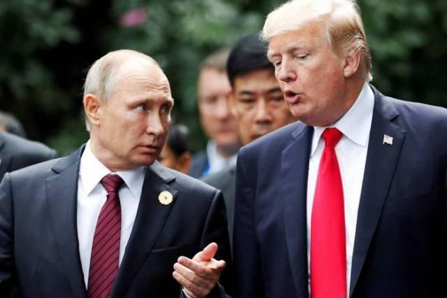 Путин рассказал о беседе с Трампом, Трамп поведал об оскорбленном Путине
