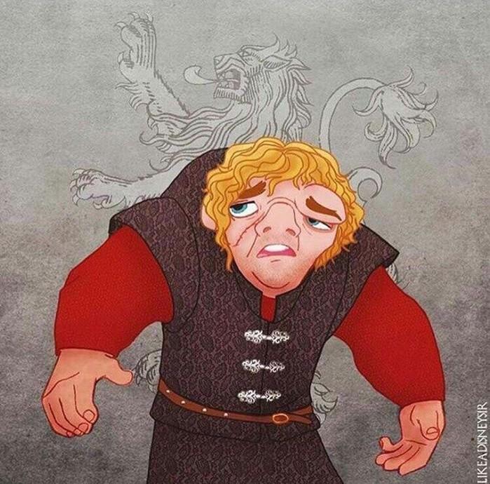 Художник представил, какими бы были персонажи «Игры престолов» в диснеевских мультиках