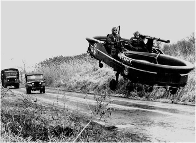 Летающие автомобили, которые существовали на самом деле
