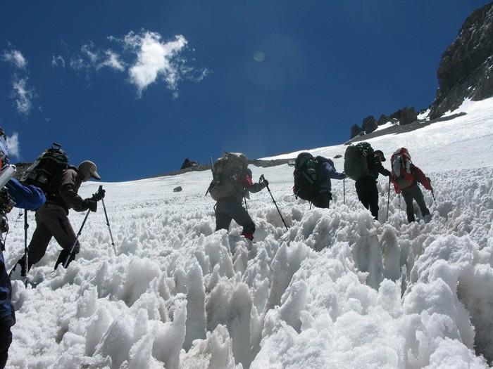 «Кающиеся снега» в Чили