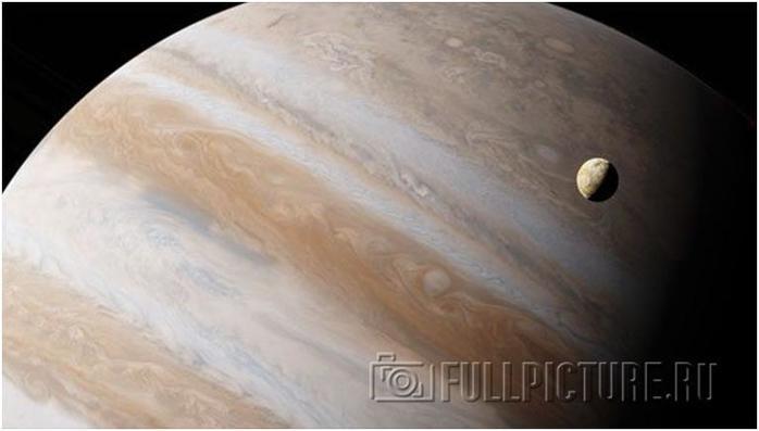 Интересные факты о Юпитере— гигантская газовая планета