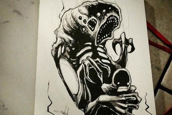 Жуткие рисунки покажут вам, что такое самые часто встречающиеся фобиях людей