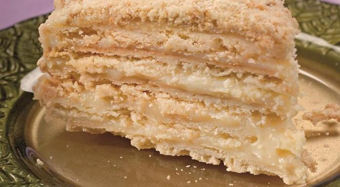 Старинный рецепт «Наполеона» (торт)
