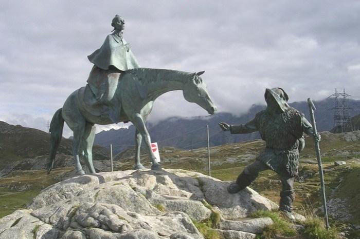 Как на самом деле Суворов совершил переход через Альпы во время Швейцарского похода