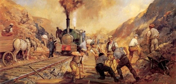 Картины прошлого— 82 рисунка автомобилей и другой техники