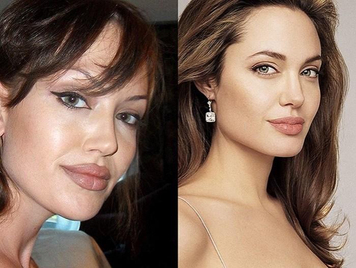 Чтобы стать двойником Джоли, иранка сделала 50 пластических операций!