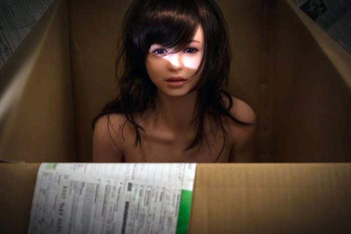 Британка разозлилась из за рождественской секс куклы соседей