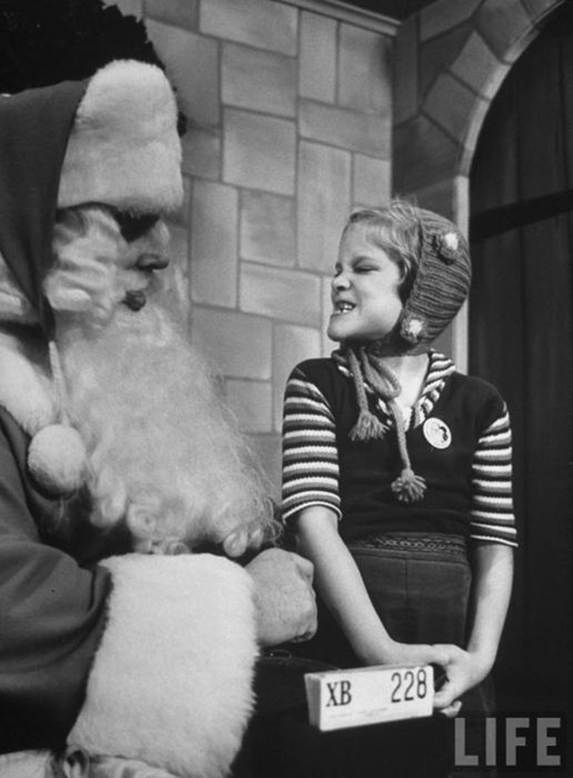 Как учили Санта Клаусов. Фотографии журнала Life 1961 года